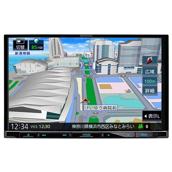 KENWOOD MDV-S707L 彩速ナビ [8V型 フルセグチューナー内蔵メモリ一体型ナビゲーション]