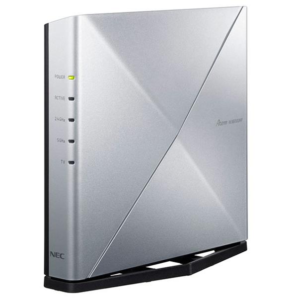 次世代規格 Wi-Fi 6 中古 を活かすNECの独自技術で快適な複数台同時接続を実現 NEC PA-WX6000HP Aterm 無線LANルーター 即納最大半額 IEEE802.11a 1147Mbps 4804 g b n ac ax