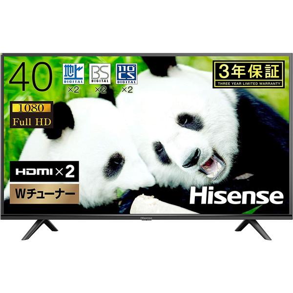 Hisense 40H38E H38Eシリーズ [40V型 地上・BS・110度CSデジタル フルハイビジョン 液晶テレビ]【クーポン対象商品】