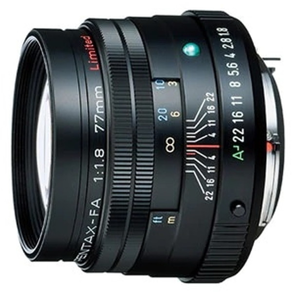 PENTAX FA77mmF1.8リミテッド ブラック [カメラ用交換レンズ(ペンタックスKマウント系)]
