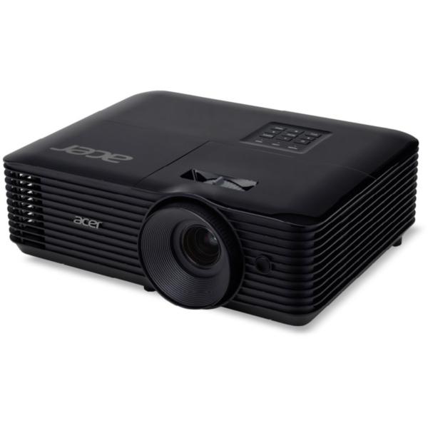 基本性能の高さに加え、Acerの培った独自機能をプラス ACER X128H ブラック [DLPプロジェクター (XGA(1024x768)/3600lm/2.7kg/HDMI/3D対応)]