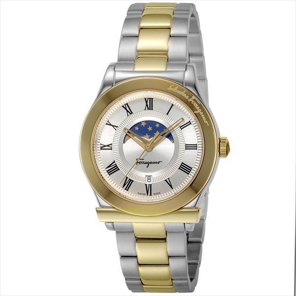 Ferragamo FBG100017 ムーンフェイズ [クォーツ腕時計(メンズウォッチ)] 【並行輸入品】