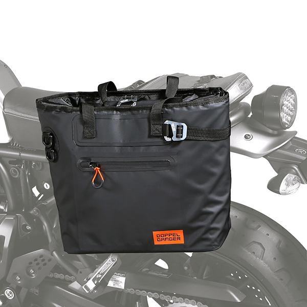 DOPPELGANGER DBT510-BK ブラック ターポリンシングルサイドトートバッグ