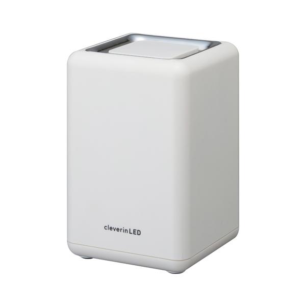 ドウシシャ UGLC-1062(WH) ホワイト [LED搭載クレベリン除菌・消臭器(6畳用)]