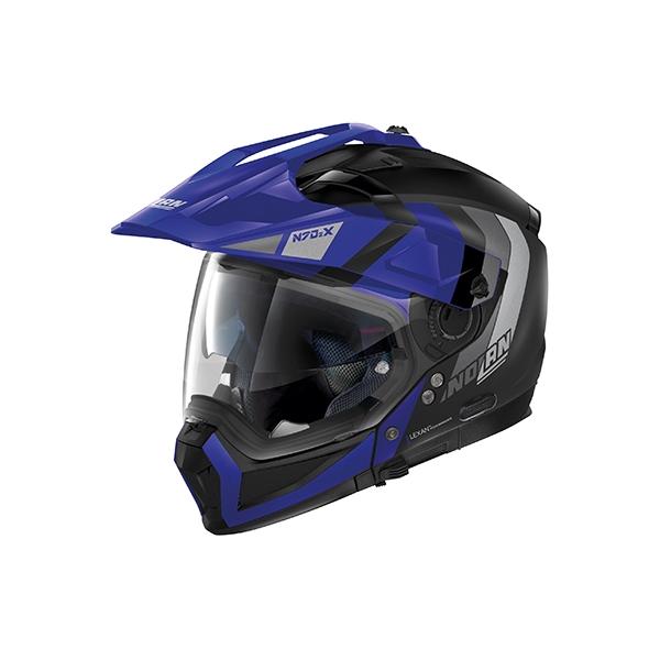デイトナ D16643 NOLAN N702X デクリオ フラットブラック_ブルー/32 M [フルフェイス ヘルメット]