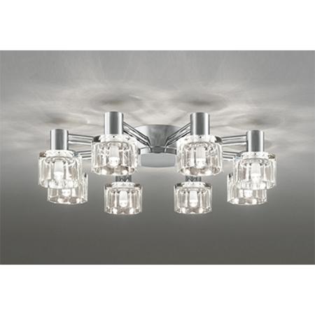 オーデリック OC257018LC [LEDシャンデリア(~8畳/調光/電球色) ※調光器別売]
