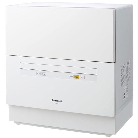 【送料無料】PANASONIC NP-TA1 ホワイト [食器洗い乾燥機 (5人用・食器点数40点)]
