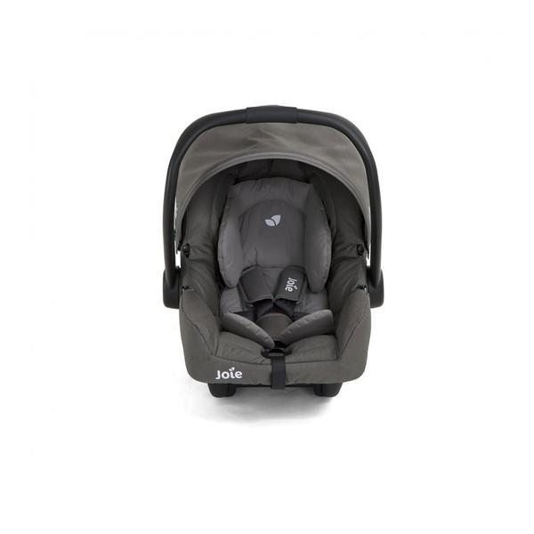 新生児から使えるチャイルドシート ローチェア ロッキングチェア 直営限定アウトレット キャリー 激安卸販売新品 トラベルシステムに 1台5役の多機能ベビーシート ジェム フォギーグレー 38002 KATOJI ベビーシート Joie