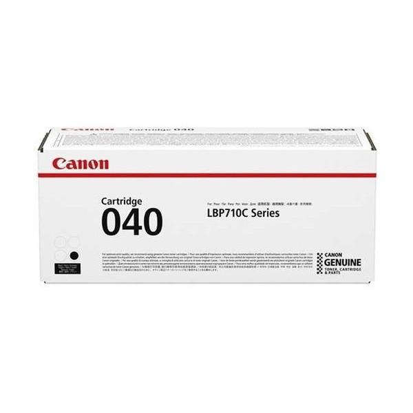 【送料無料】CANON CRG-040BLK ブラック [純正 トナーカートリッジ040]【同梱配送不可】【代引き不可】【沖縄・離島配送不可】