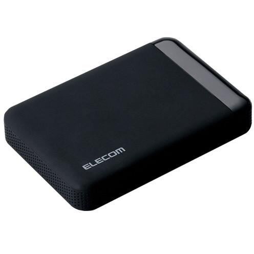 【送料無料】ELECOM ELP-EEN010UBK ブラック [外付けハードディスク (1.0TB・USB3.0対応)] 【同梱配送不可】【代引き・後払い決済不可】【沖縄・離島配送不可】
