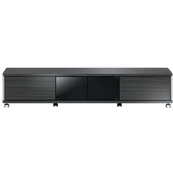 【送料無料】朝日木材加工 AS-GD1600L ブラック系 GD style [テレビ台 (~70V型対応)]