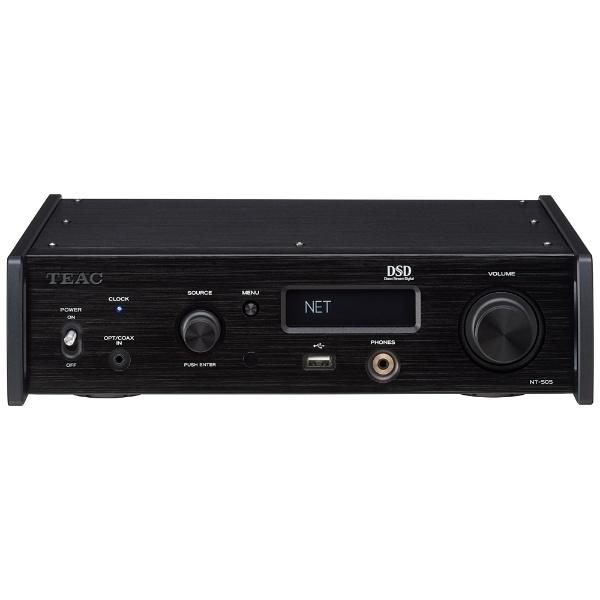 TEACNT-505-Bブラック[USBDAC/ネットワークプレーヤー]