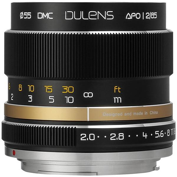 贅沢 毒鏡 DULENS APO 85mm F2 キヤノンEFマウント (ブラック) [交換レンズ], LACUS a9bd7d3a