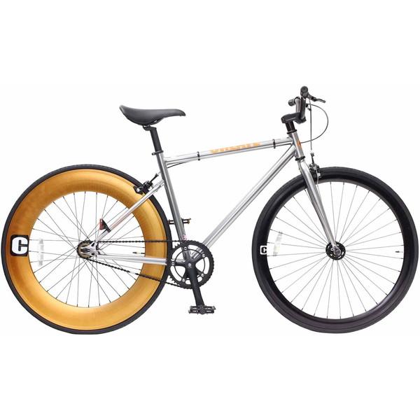 【送料無料】TOP ONE C100-520-SV シルバー CREATE [クロスバイク(700×25C・フレーム520mm)]【同梱配送不可】【代引き不可】【沖縄・離島配送不可】