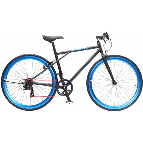 【送料無料】TOP ONE C210-460-BK ブラック CREATE [クロスバイク(700×28C・フレーム460mm・6段変速)] 【同梱配送不可】【代引き・後払い決済不可】【沖縄・北海道・離島配送不可】