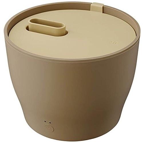 【送料無料】プラスマイナスゼロ XQK-Z210(T) ブラウン [スチーム式加湿器(2.0L/木造6畳/プレハブ洋室10畳)]