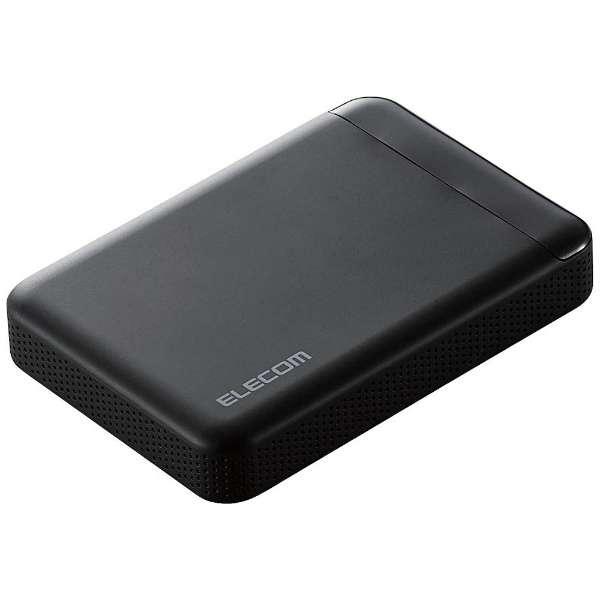 ELECOM ELP-EDV020UBK [ビデオカメラ向けポータブルハードディスク 2TB] 【同梱配送不可】【代引き・後払い決済不可】【沖縄・離島配送不可】