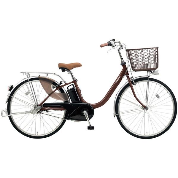 【送料無料】PANASONIC BE-ELLU632-T チョコブラウン ビビ・LU [電動自転車(26インチ・内装3段変速)]【同梱配送不可】【代引き不可】【本州以外配送不可】