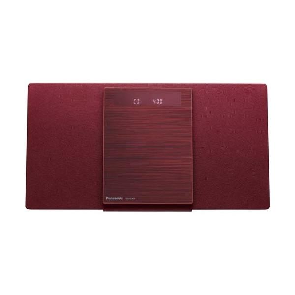【送料無料】PANASONIC SC-HC400-R レッド [Bluetooth対応 ミニコンポ]