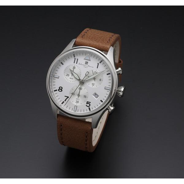 【送料無料 ホワイト】Salvatore Marra Marra SM17113-SSWH ホワイト SM17113-SSWH [クォーツ腕時計 (メンズ)], 三徳食品岩手:41273f8a --- jpworks.be