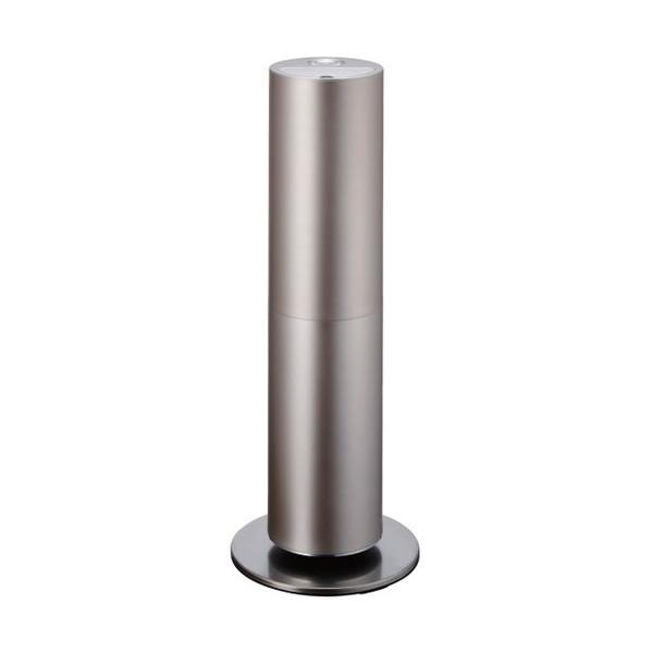 【送料無料】ドウシシャ KMHS-702-CGD シャンパンゴールド d-design [ハイブリッド式加湿器(木造12畳/プレハブ19畳まで)]