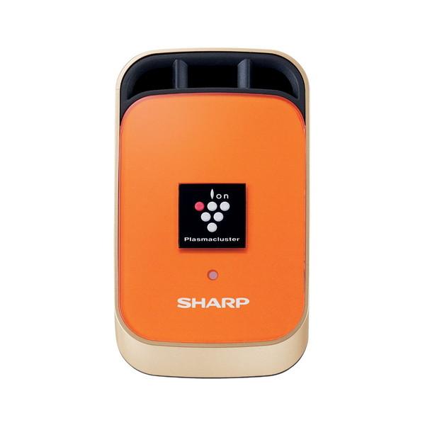 【送料無料】SHARP IG-KC1-D オレンジ系・マーマレードオレンジ [車載用プラズマクラスターイオン発生機(カーエアコン取付タイプ)]