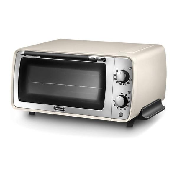【送料無料】デロンギ(Delonghi) EOI407J-W Pure White ディスティンタコレクション [オーブントースター(1200W)]