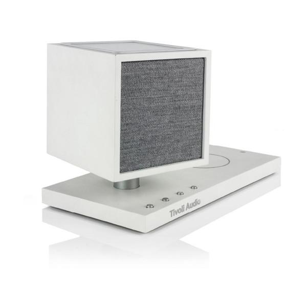 ライトや充電機能が搭載されたワイヤレススピーカー Tivoli Audio REV-0113-ROW Bluetoothワイヤレススピーカー マーケット White REVIVE Grey 新商品 新型