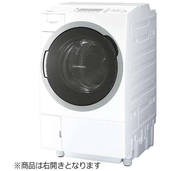【送料無料】東芝 TW-117V6R グランホワイト ZABOON [ドラム式洗濯乾燥機 (洗濯11.0kg/乾燥7.0kg・右開き)]