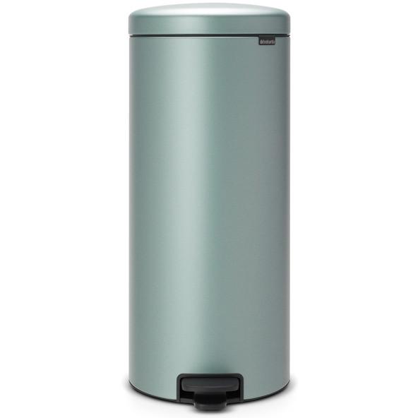 【送料無料】brabantia ペダルビン 30L MINT 11456 メタリックミント ニューアイコン