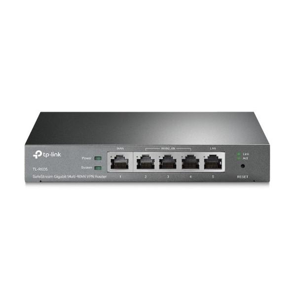 集中型管理機能搭載 プロフェッショナル 高い安全性 信頼性 TP-LINK SafeStream マルチWAN ギガビット TL-R605 新作通販 当店は最高な サービスを提供します VPNルーター