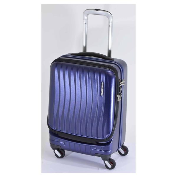 【送料無料】エンドー鞄 1-210-NV FREQUENTER CLAM フロントオープンキャリー46cm コン [スーツケース(34L)]