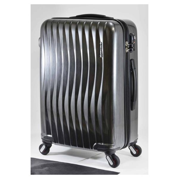 【送料無料】エンドー鞄 1-621-HLBK FREQUENTER WEVE ファスナータイプ58cm ラインブラック [スーツケース(56L)]