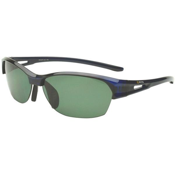 【送料無料】ゴルフ サングラス スキンズ(SKINS) SKS-207 C-2 ネイビー スポーツサングラス(偏光レンズ) スポーツサングラス 偏光レンズ イーグルビュー ゴルフ用レンズ 紫外線カット