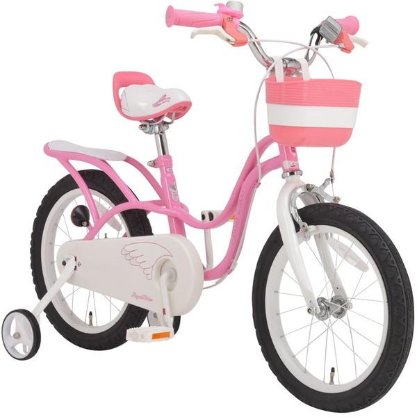 【送料無料】ROYAL BABY RB-WE LITTLE SWAN 16 pink (37299) [子供用自転車(16インチ)補助輪付き]【同梱配送不可】【代引き不可】【沖縄・離島配送不可】