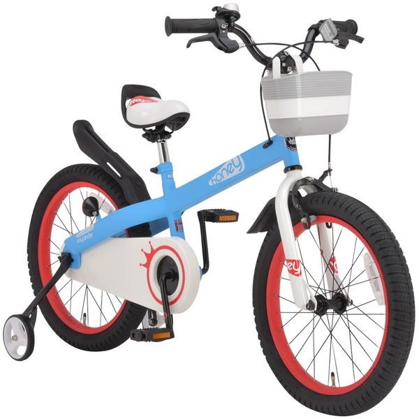 【送料無料】ROYAL BABY RB-WE HONEY 16 blue (37292) [子供用自転車(16インチ)補助輪付き]【同梱配送不可】【代引き不可】【沖縄・離島配送不可】
