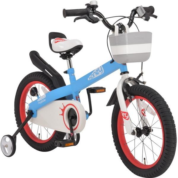 【送料無料】ROYAL BABY RB-WE HONEY 18 blue (37295) [子供用自転車(18インチ)補助輪付き]【同梱配送不可】【代引き不可】【沖縄・離島配送不可】