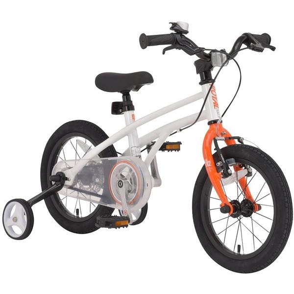 【送料無料】ROYAL BABY RB-WE H2 14 orange (37279) [子供用自転車(14インチ)補助輪・スタンド付き]【同梱配送不可】【代引き不可】【沖縄・離島配送不可】