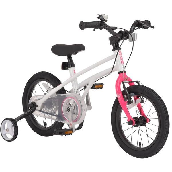 【送料無料】ROYAL BABY RB-WE H2 14 pink (37280) [子供用自転車(14インチ)補助輪付き]【同梱配送不可】【代引き不可】【沖縄・離島配送不可】