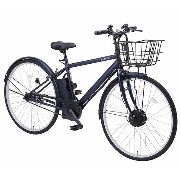 スポーティな電動自転車 3モードアシストで快適走行 クーポン発行中 店舗展示品 kaihou 海外限定 入荷予定 アウトレット 電動アシスト自転車 BM-C27DNV 27インチ ネイビー
