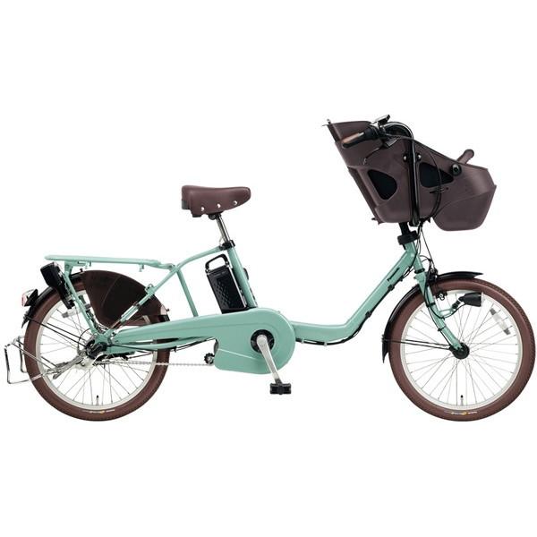 【送料無料】PANASONIC BE-ELM032-G2 ミスティグリーン ギュット・ミニ・KD [電動自転車(20インチ・内装3段変速)]【同梱配送不可】【代引き不可】【本州以外配送不可】