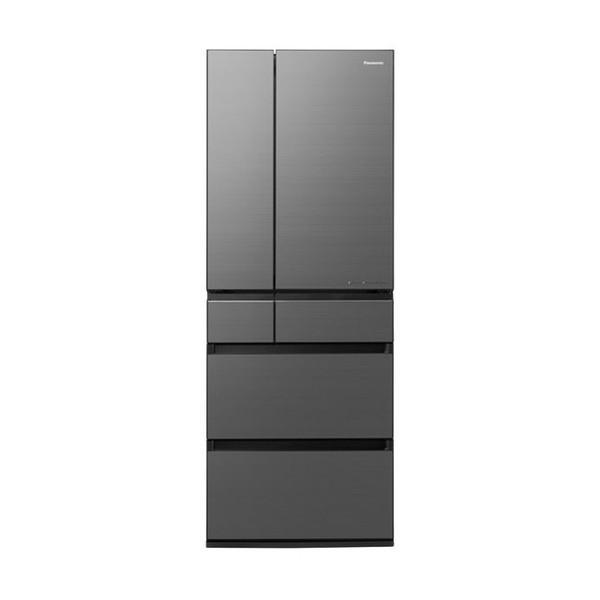 <title>AIエコナビ を搭載したIoT対応冷蔵庫 幅68.5cm たっぷり収納できる大容量600L PANASONIC NR-F607WPX-H ミスティスチールグレー WPXタイプ 海外輸入 冷蔵庫 600L フレンチドア</title>