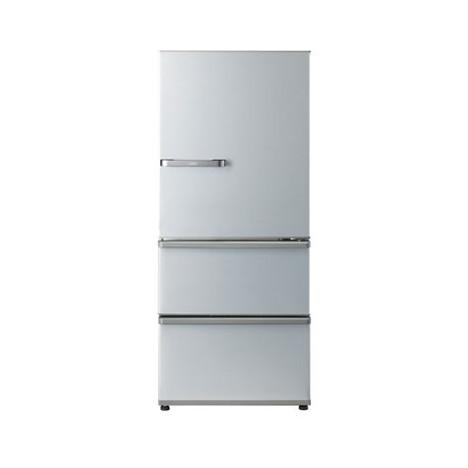 省エネ性能が向上した3ドア冷蔵庫 AQUA 割引も実施中 AQR-27K-S ブライトシルバー 右開き 冷蔵庫 新商品!新型 272L
