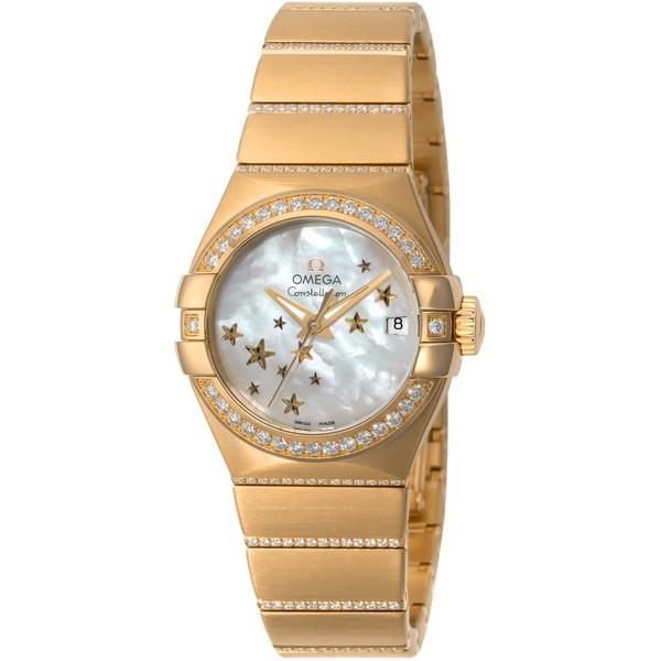 【送料無料】OMEGA 123.55.27.20.05.002 コンステレーション ブラッシュ クロノメーター [自動巻き腕時計(レディースウオッチ)] 【並行輸入品】