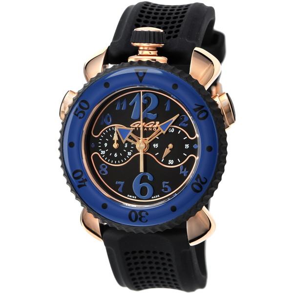【】GAGA milano(ガガミラノ) 7011.01 CHRONO SPORTS 45MM [クォーツ腕時計(メンズウオッチ)] 【並行輸入品】