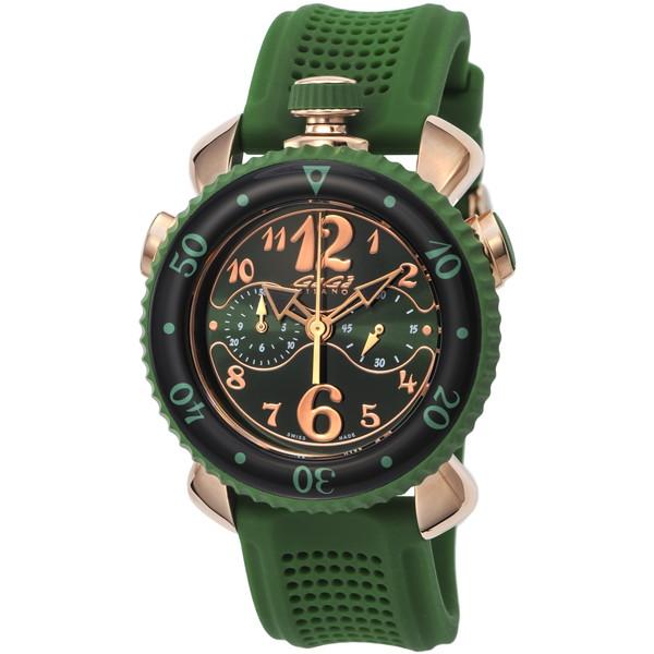 【送料無料】GAGA milano(ガガミラノ) 7011.02 CHRONO SPORTS 45MM [クォーツ腕時計(メンズウオッチ)] 【並行輸入品】