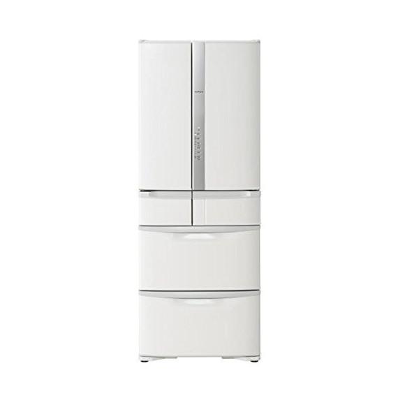 【送料無料】日立 R-F48M2 パールホワイト [冷蔵庫(475L・フレンチドア)] 【代引き・後払い決済不可】【離島配送不可】