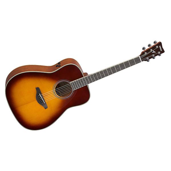 【送料無料】YAMAHA FG-TA BS ブラウンサンバースト トラッドウェスタンタイプ [トランスアコースティックギター]