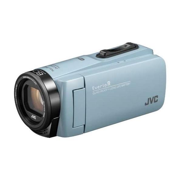 【送料無料】JVC GZ-RX680-A サックスブルー Everio R [フルハイビジョンデジタルビデオカメラ (メモリータイプ64GB・SDカード)]