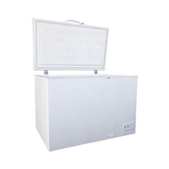 【送料無料】三ツ星貿易 SKM459 ホワイト SCANCOOL [冷凍庫(459L・上開き・直冷式)] 【代引き・後払い決済不可】【離島配送不可】